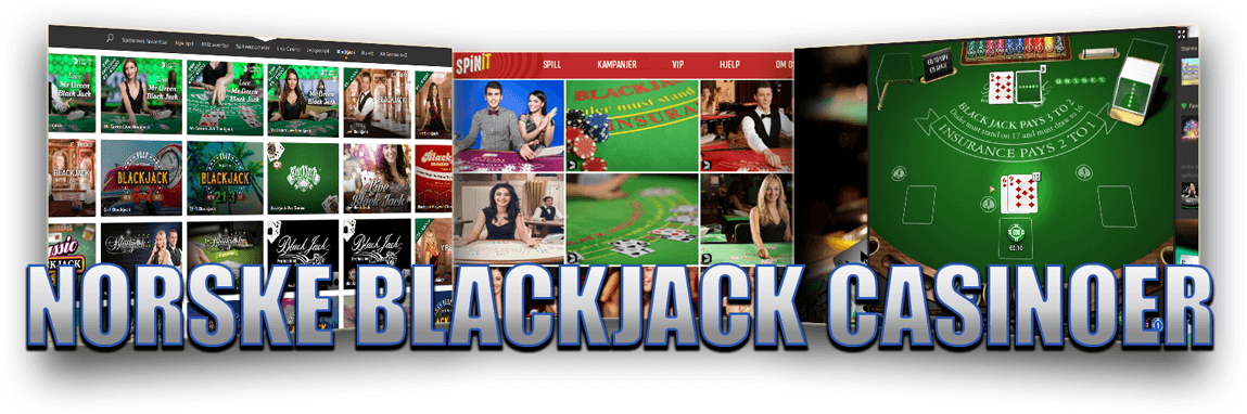 Norske blackjack casinoer